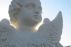 Dampfreinigung: Hauptfriedhof mit Anstrich