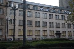 Nach Graffitientfernung